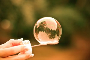 Blowing bubbles 1